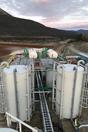 Mine Water Treatment Plant Faro Mine