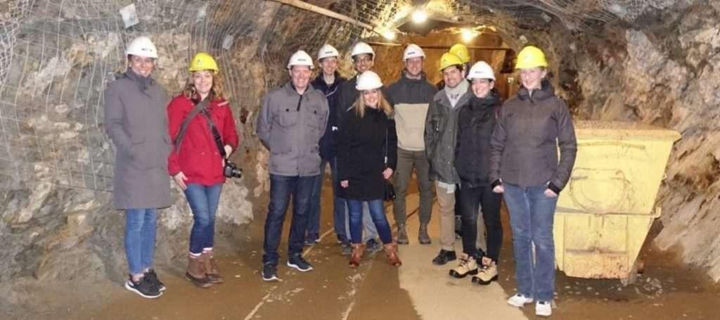 Team Mine tour